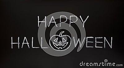 Happy Halloween on Blackboard
