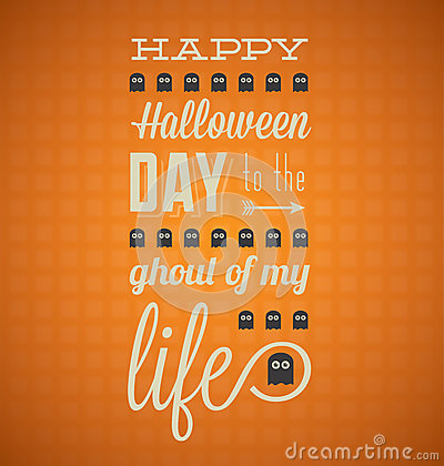 Happy Halloween Card with Ghosts