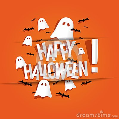 Happy Halloween Card Stock PhotoImage34254910