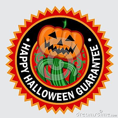Happy Halloween Seal