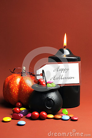 Happy Halloween Trick or Treat  - vertical
