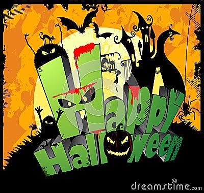 Happy Halloween Type