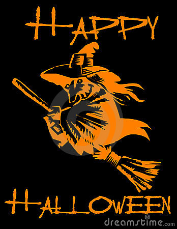 Happy Halloween! Witch!