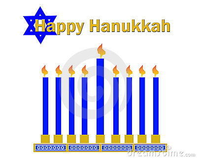 Happy hanukkah clipart