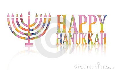 Happy hanukkah logo