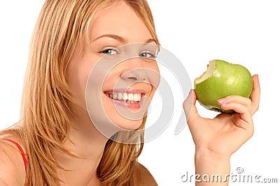Happy healthy girl