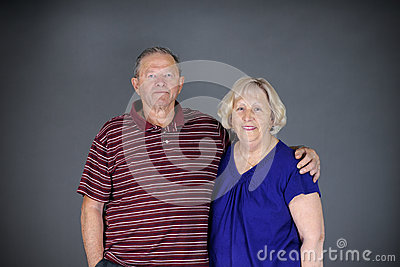 Happy and healthy senior couple
