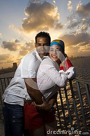 Free Happy Hispanic Couple Royalty Free Stock Image - 5194016