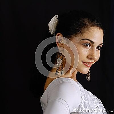 Free Happy Hispanic Model Royalty Free Stock Photos - 5306188