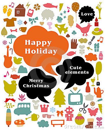 Free Happy Holiday Royalty Free Stock Images - 9518989