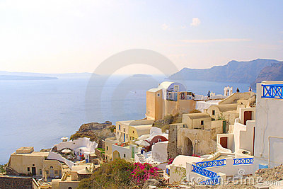 Happy holiday in greece