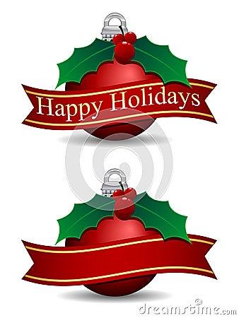 Free Happy Holidays Royalty Free Stock Photos - 17330458