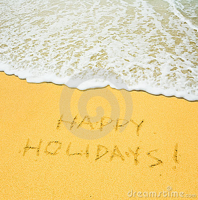 Free Happy Holidays Royalty Free Stock Image - 2748516