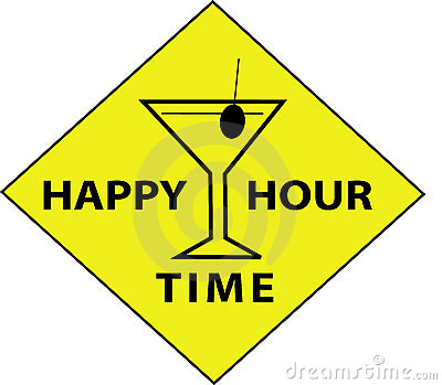 Happy Hour Time (Sign)