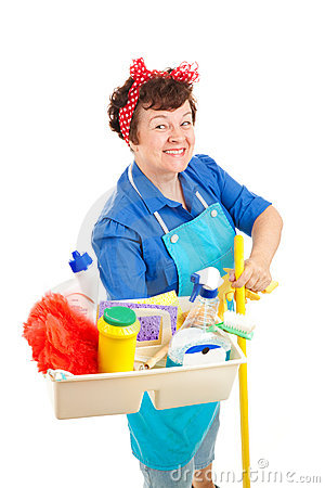 Free Happy Housekeeper Stock Photos - 10505293