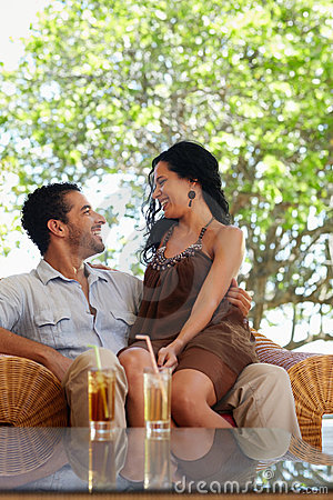 Free Happy Husband And Wife Doing Honeymoon In Resort Royalty Free Stock Image - 19796596