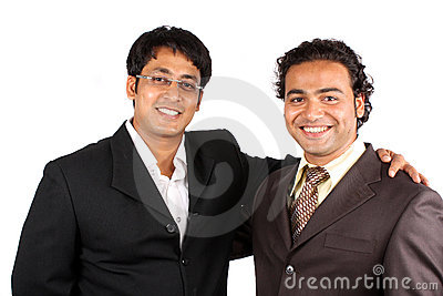 Happy Indian Businessmen