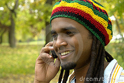 happy-jamaican-on-the-phone-thumb3478338