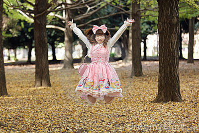 Happy japanese lolita