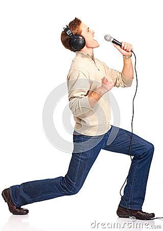 Happy karaoke signer