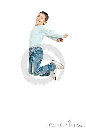Free Happy Kid Jumping Stock Photo - 18948830