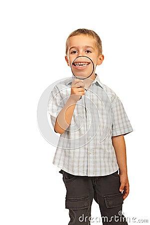 Free Happy Kid With Big Smile Royalty Free Stock Photos - 27599498