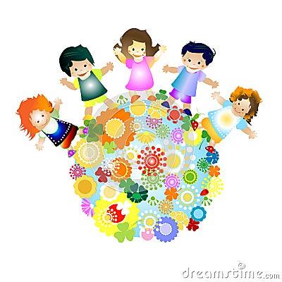 Free Happy Kids Royalty Free Stock Photos - 5126548