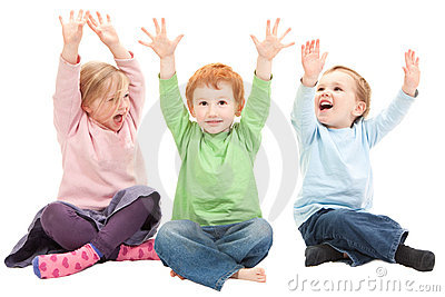 Happy Kids Having Fun Royalty Free Stock Images - Image: 21000939