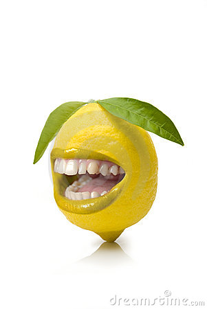 Free Happy Lemon Stock Photography - 7151912