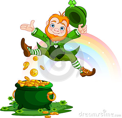 Free Happy Leprechaun Stock Photos - 49967393