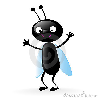 Free Happy Little Bug Royalty Free Stock Photography - 4841017