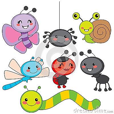 Happy Little Bugs