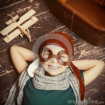 Free Happy Little Dreamer. Stock Images - 50624914