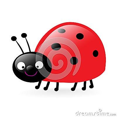 Happy little ladybug