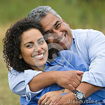 Free Happy Loving Hispanic Couple Stock Photography - 11185042
