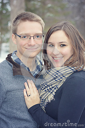 Free Happy Married Couple Stock Photography - 64554502