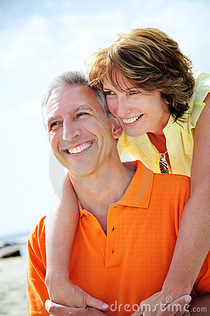 Free Happy Mature Couple Stock Photography - 12885002