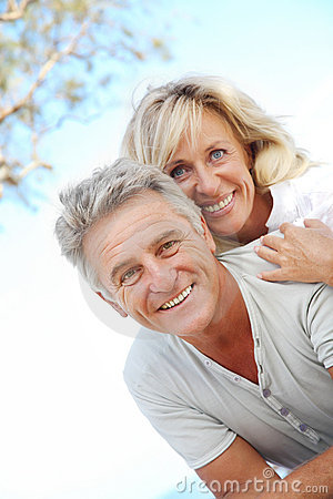 Free Happy Mature Couple Stock Image - 17908821