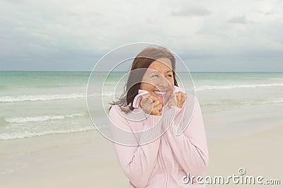 Happy mature woman activd retirement