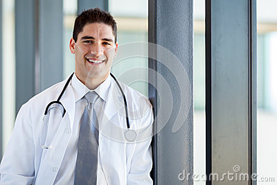 Happy medical doctor