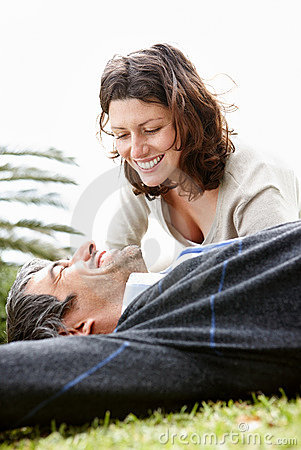 Happy Middle Couple Enjoying Vacation Royalty Free Stock Photos - Image: 15741878