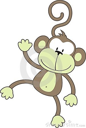 Free Happy Monkey Stock Photography - 9194562