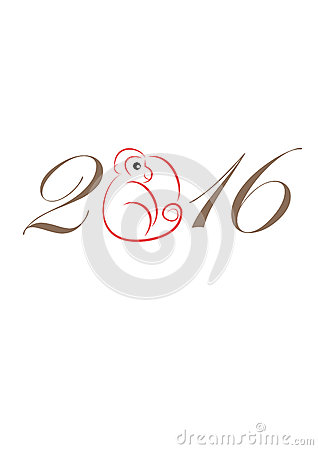 ... 2016 monkey chinese new year traditional china and hong kong new year