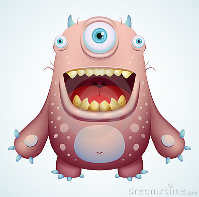 Free Happy Monster Stock Images - 23828404