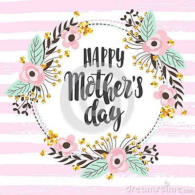 Free Happy Mother Day Background Stock Photos - 91254123