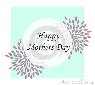 happy mother day, holiday background. can be use for sale advertisement, backdrop. Vector Illustration