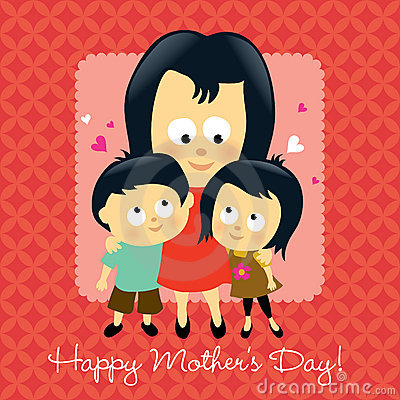 Free Happy Mother S Day Asian Stock Images - 13774054