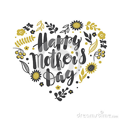 Free Happy Mother`s Day Calligraphy Background Royalty Free Stock Photos - 91254028
