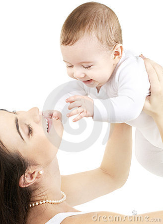 Free Happy Mother With Baby Boy Royalty Free Stock Photos - 3982698
