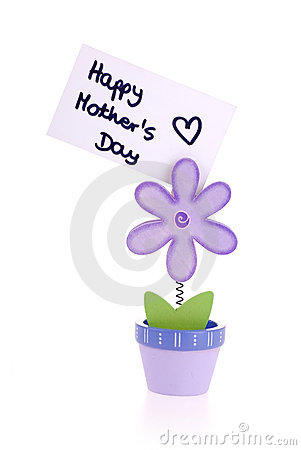 Free Happy Mothers Day. Stock Image - 14171991